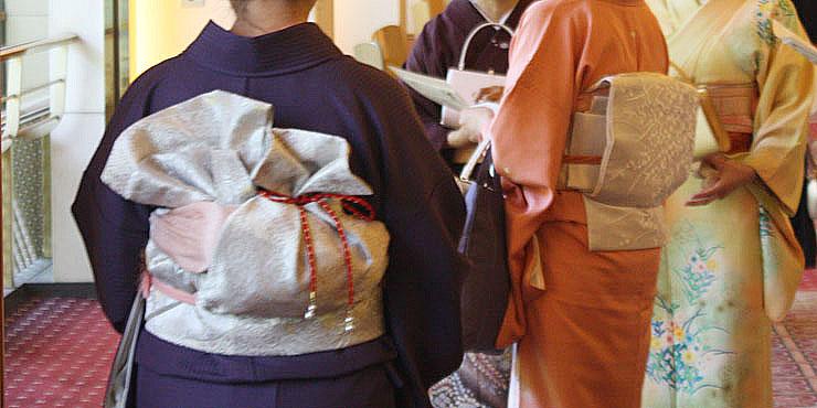 袋帯の変化結び